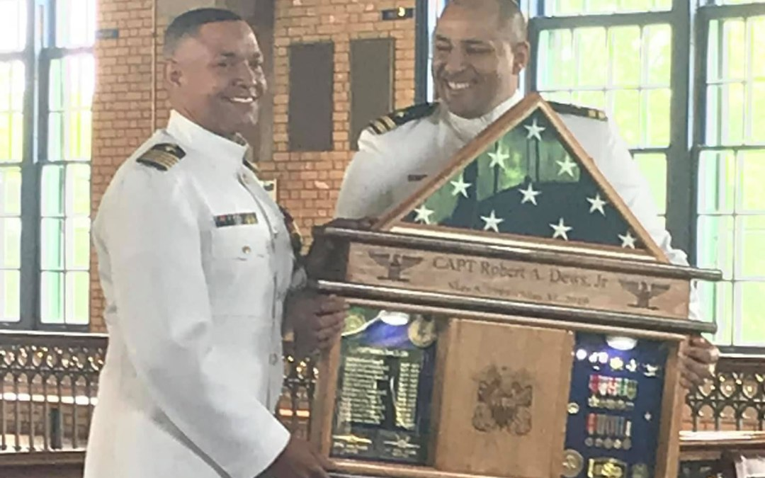 Retirement Ceremony for CAPT Robert Dews, Jr., USN – May 3, 2019