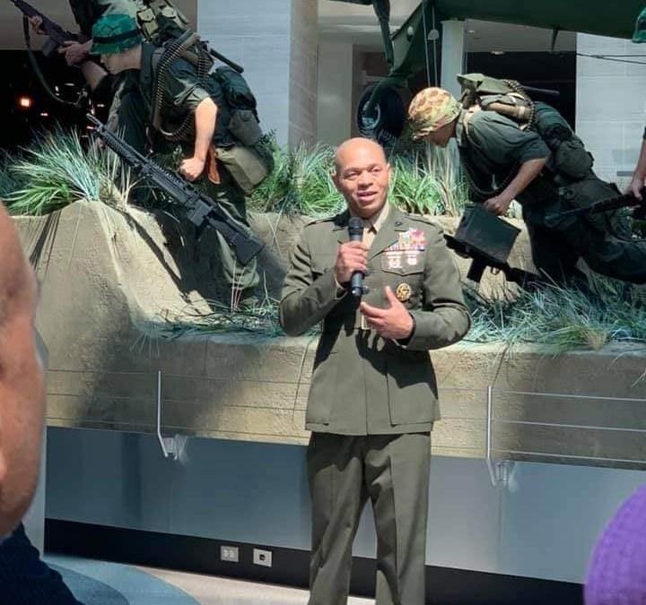 Thanks to Colonel Reginald Hairston, USMC (Ret.)
