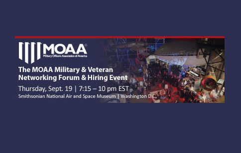 MOAA Military & Veteran Networking Forum & Hiring Event