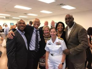 Admirals McCllelland and Reyes Change of Command