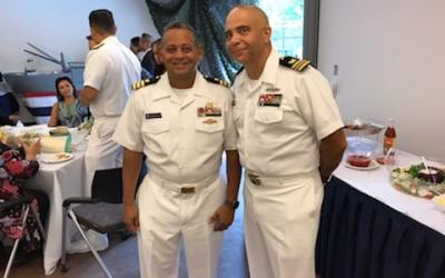 Change of Command Ceremony – Admiral Jackie McClelland and Rear Admiral Alan J Reyes
