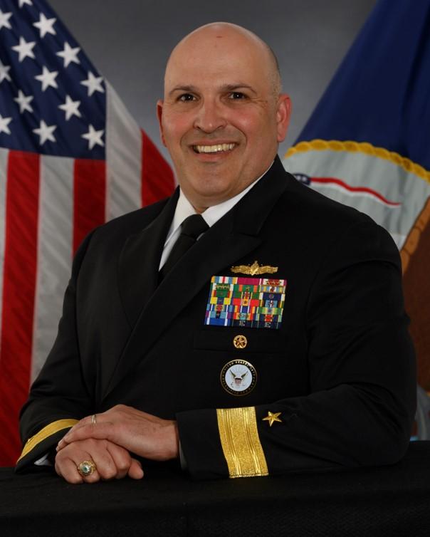 Rear Admiral Dennis Velez