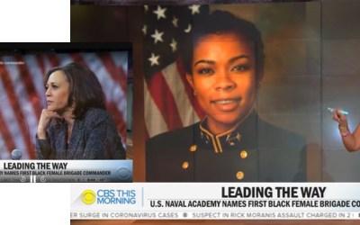 Naval Academy brigade commander makes history
