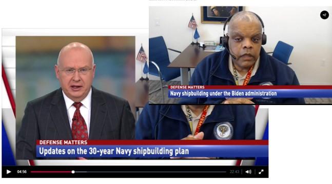 RADM Sinclair Harris (USN ret.) discusses Navy Shipbuilding