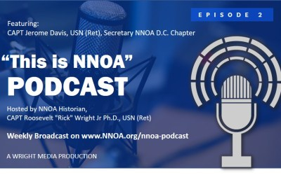 Podcast Episode 2: CAPT Jerome Davis, USN (Ret)