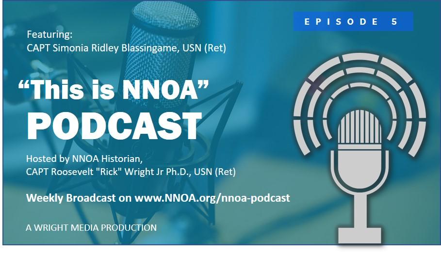 Podcast Episode 5: CAPT Simonia Ridley Blassingame, USN (Ret)