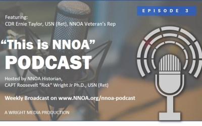 Podcast Episode 3: CDR Ernie Taylor, USN (Ret)