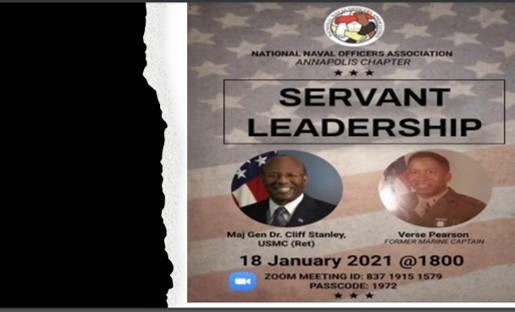 NNOA Annapolis Chapter Hosts Servant Leadership Session