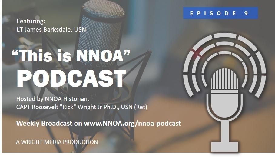 Podcast Episode 9: LT James Barksdale, USN