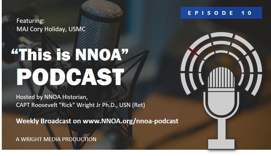 Podcast Episode 10: MAJ Cory Holiday, USMC