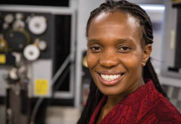 In addition to her teaching and research, UWM Professor Wilkistar Otieno devotes significant time to mentoring students, in particular women and students from underrepresented backgrounds interested in engineering.