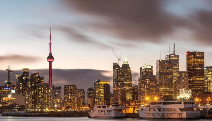 Poison Piet, Toronto Canada city sky line
