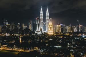 city sky line of Malaysia