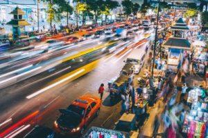 street lapse in thailand