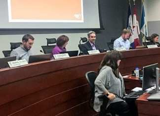 City council sat Monday for the final council meeting before the Oct. 15 election. Sidney Cohen/NNSL photo.