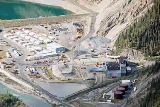 Prairie Creek Mine has few regulatory hurdles left to tackle. Photo courtesy of Canadian Zinc Corporation.