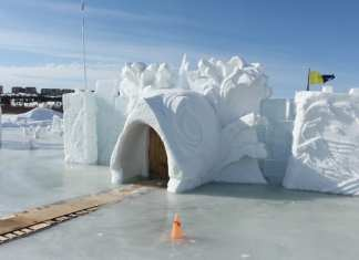 As the warm weather has caused the Snowking castle to melt and the entrance to sink 'Under the Sea', the festival will be closed for the remainder of the year, one week earlier than usual. Brett McGarry/NNSL