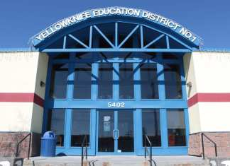 Yellowknife Education District No. 1 office, May 2014 NNSL photo