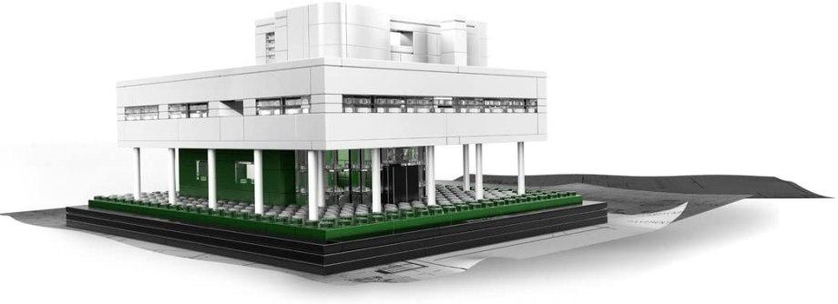 LEGO(レゴ)アーキテクチャーシリーズ「サヴォア邸」 ピロティや水平連続窓もレゴのパーツで再現の参考画像