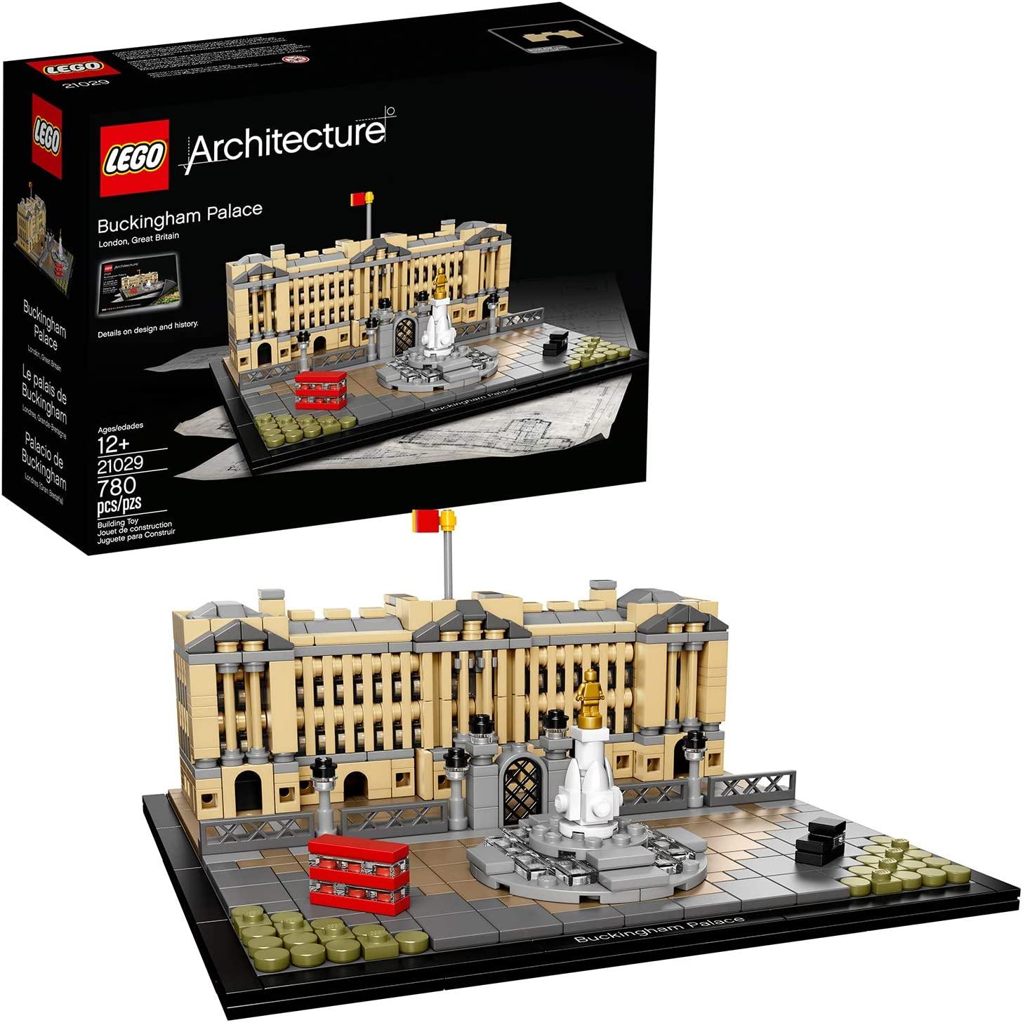 LEGO(レゴ)アーキテクチャーシリーズ「バッキンガム宮殿」の参考画像