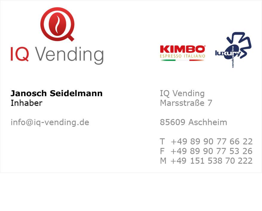Iq Vending Visitenkarte No Brand