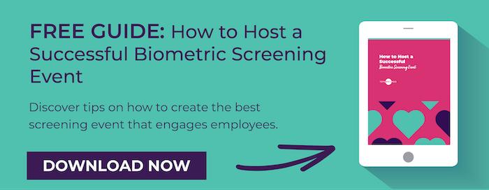 Hosting Biometric Screening Events