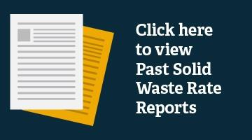 Past Solid Waste Reports