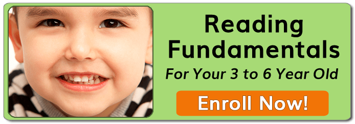 Reading Fundamentals For Your 3 To 6 Year Old