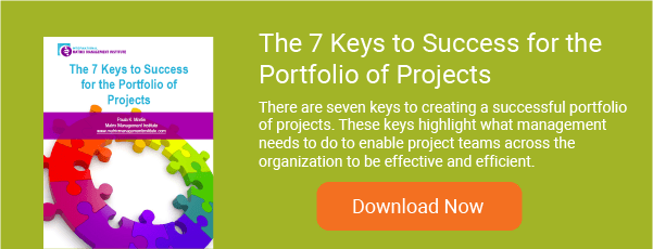 The 7 Keys to Success for the Portfolio of Projects