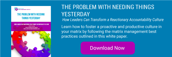 The Problem With Needing Things Yesterday White Paper Download