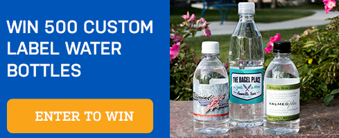 Win custom bottles for your business!