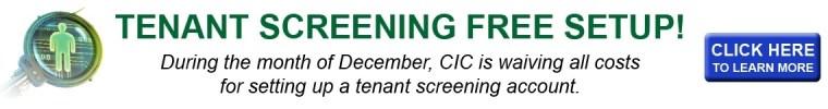 Free tenant screening account setup