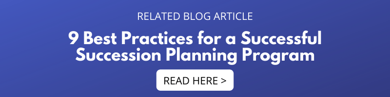9 Best Practices for a Successful Succession Planning Program