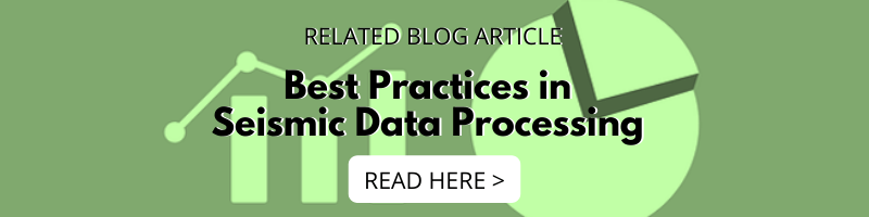 Best Practices in Seismic Data Processing