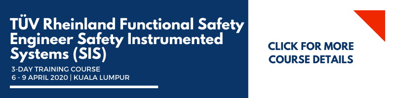 TÜV Rheinland Functional Safety Engineer Safety Instrumented Systems (SIS)