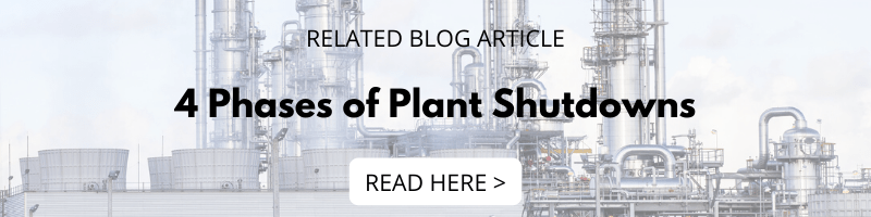 4 Phases of Plant Shutdowns