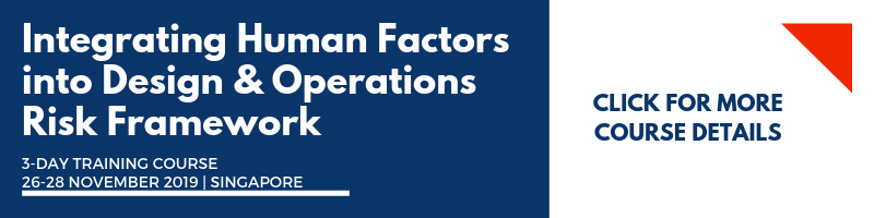 Integrating Human Factors into Design & Operations Risk Framework
