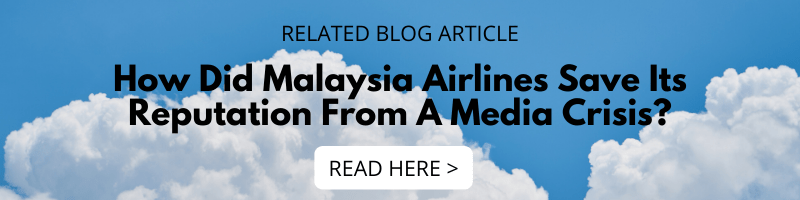 How Did Malaysia Airlines Save Its Reputation From A Media Crisis