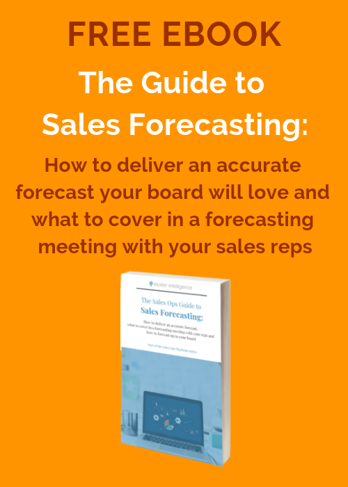 The Guide to Sales Forecasting - free eBook