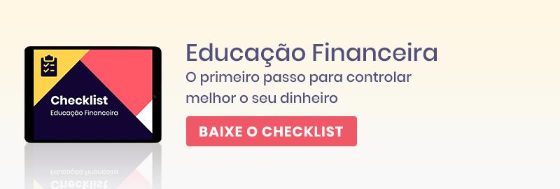 Baixe o checklist e dê o primeiro passo para controlar melhor o seu dinheiro