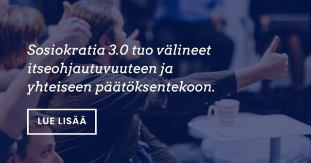 Välineitä itseohjautuvuuteen – Sosiokratia 3.0 -koulutus Helsingissä 8.-10.4.2019