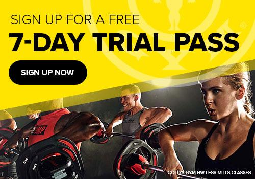Trial Pass at Golds Gym Northwest