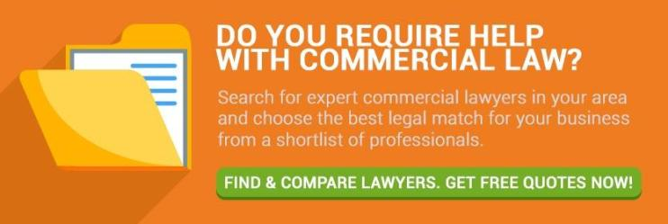 Do you require help with commercial law? Customer Connection