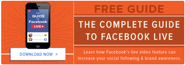 free guide: how to use facebook live