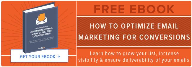 optimizing email marketing ebook