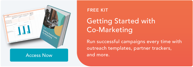 free guide to co-marketing partnerships