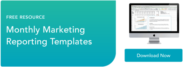 marketing reporting templates
