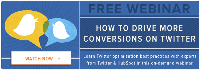 free twitter conversions webinar