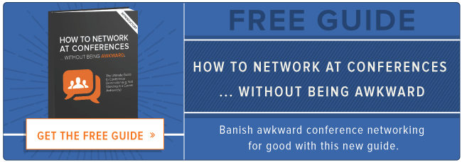 awkward conference networking guide