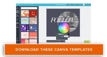 download free Canva design templates